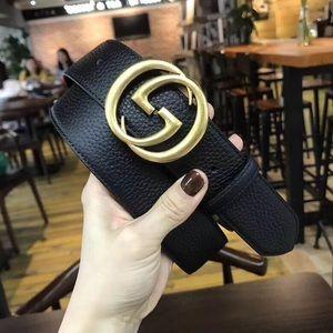 Gucci belts 43in. width 4cm unisex